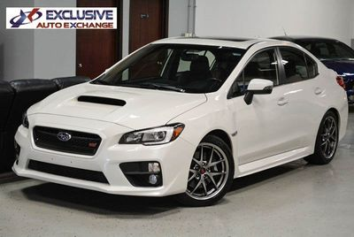 2016 Subaru WRX STI Limited w/Lip Spoiler Sedan