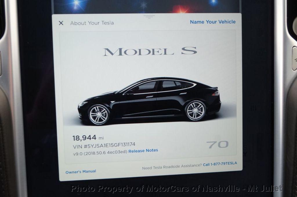 2016 Tesla Model S 2016.5 4dr Sedan RWD 70 kWh Battery - 18614617 - 31