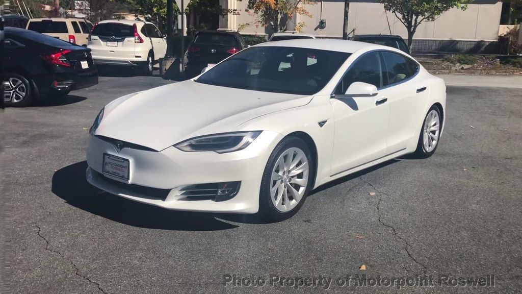 2016 Used Tesla Model S P90d Climate Pkg Suspension Pkg