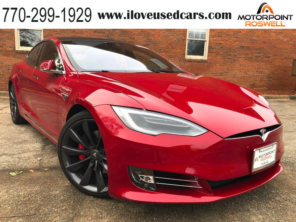 Tesla Model S P90D >> 2016 Used Tesla Model S Tesla Model S 2016 5 P90d At Motorpoint Roswell Ga Iid 18401809