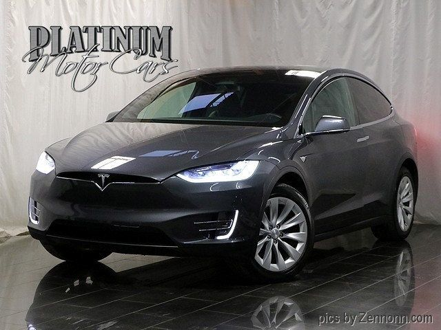 Platinum Motor Cars >> 2016 Used Tesla Model X Awd 4dr 60d At Platinum Motor Cars