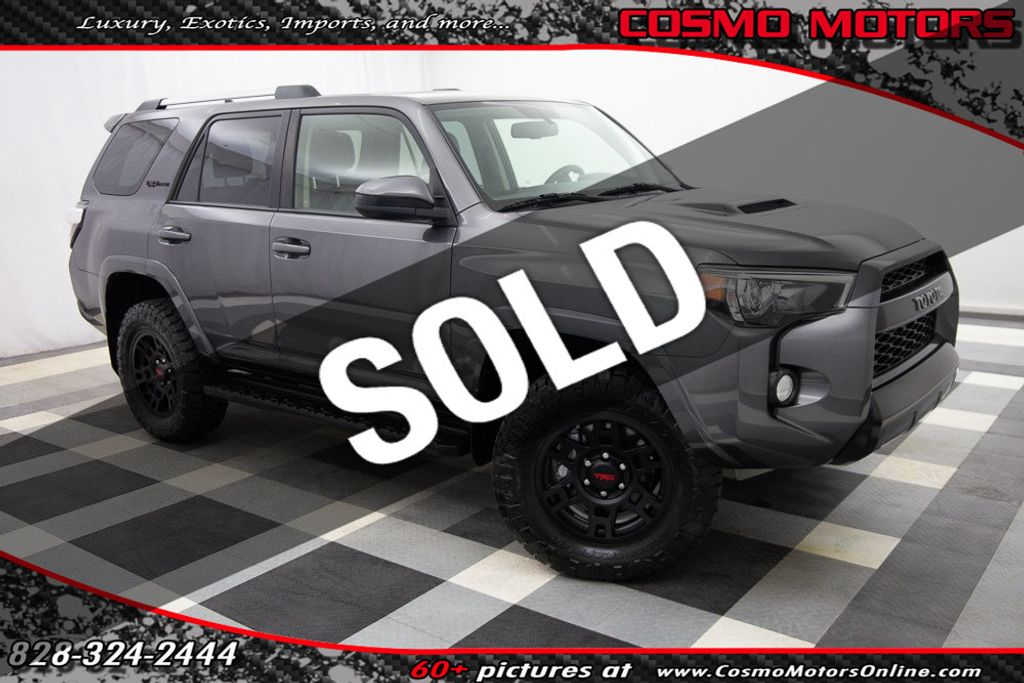 2016 Used Toyota 4runner 4wd 4dr V6 Trd Pro At Cosmo Motors Serving Hickory Nc Iid 20545711