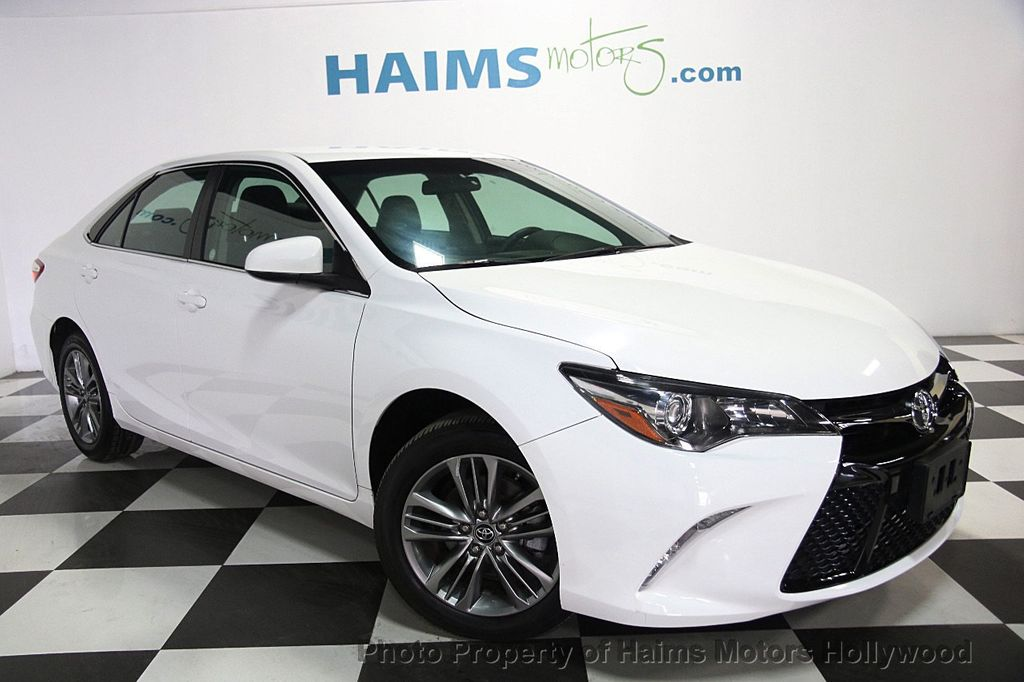 2016 used toyota camry 4dr sedan i4 automatic se at haims motors serving fort lauderdale. Black Bedroom Furniture Sets. Home Design Ideas