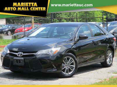 2016 Toyota Camry 4dr Sedan I4 Automatic SE - Click to see full-size photo viewer