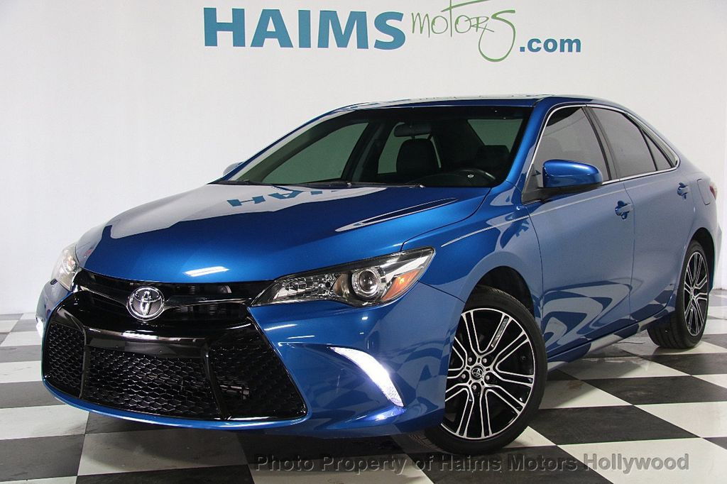 Toyota Dealer Miami >> 2016 Used Toyota Camry 4dr Sedan I4 Automatic SE Special ...