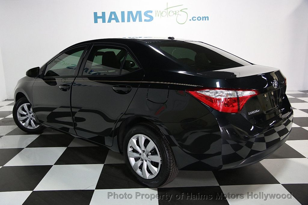 Fresh 2016 toyota Corolla Standard Features