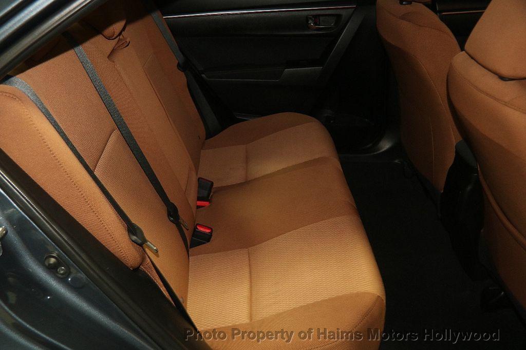 2016 Used Toyota Corolla 4dr Sedan Cvt Le At Haims Motors Ft Lauderdale Serving Lauderdale Lakes