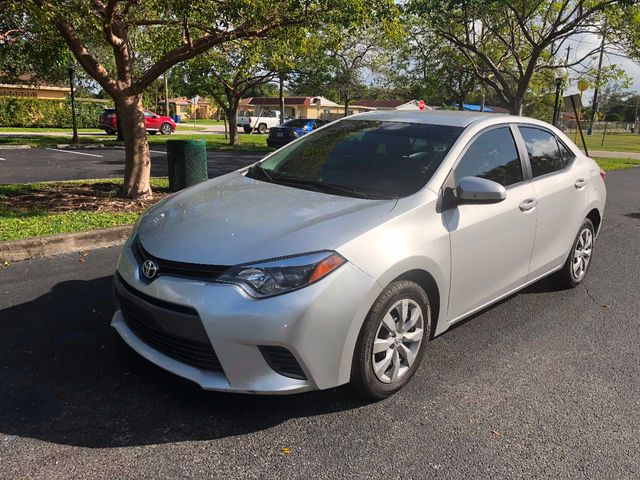 2016 used toyota corolla 4dr sedan cvt le at a luxury autos serving miramar fl iid 17096027. Black Bedroom Furniture Sets. Home Design Ideas