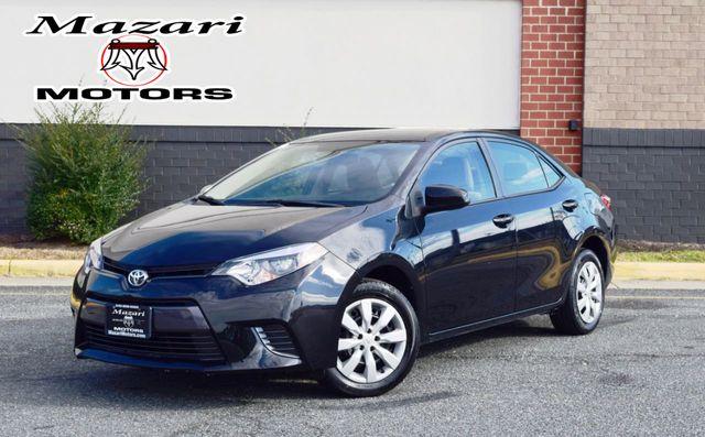 2016 Toyota Corolla 4dr Sedan CVT LE