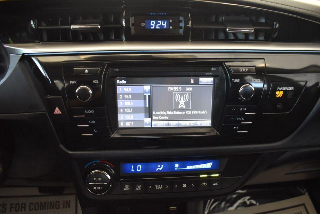 2016 Toyota Corolla 4dr Sedan CVT S - 17974429 - 20