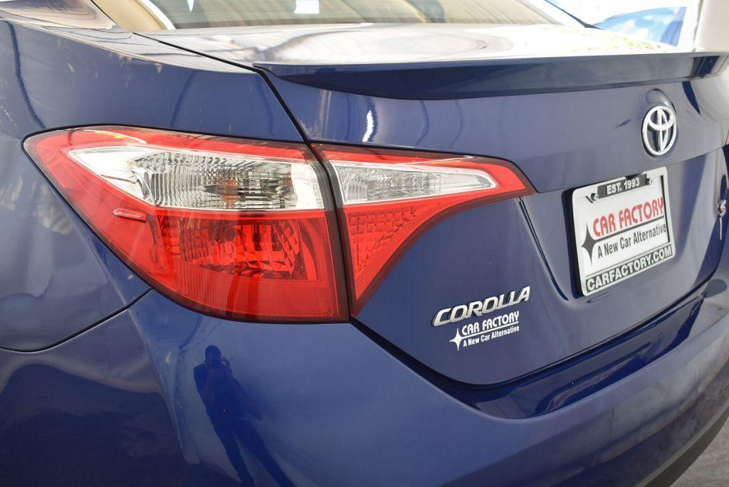 2016 Toyota Corolla 4dr Sedan CVT S - 17974429 - 6