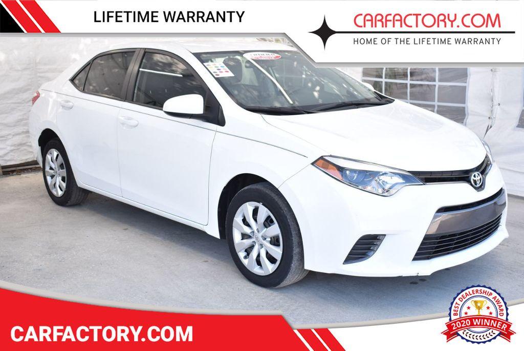 2016 Toyota Corolla LE - 18497667 - 0