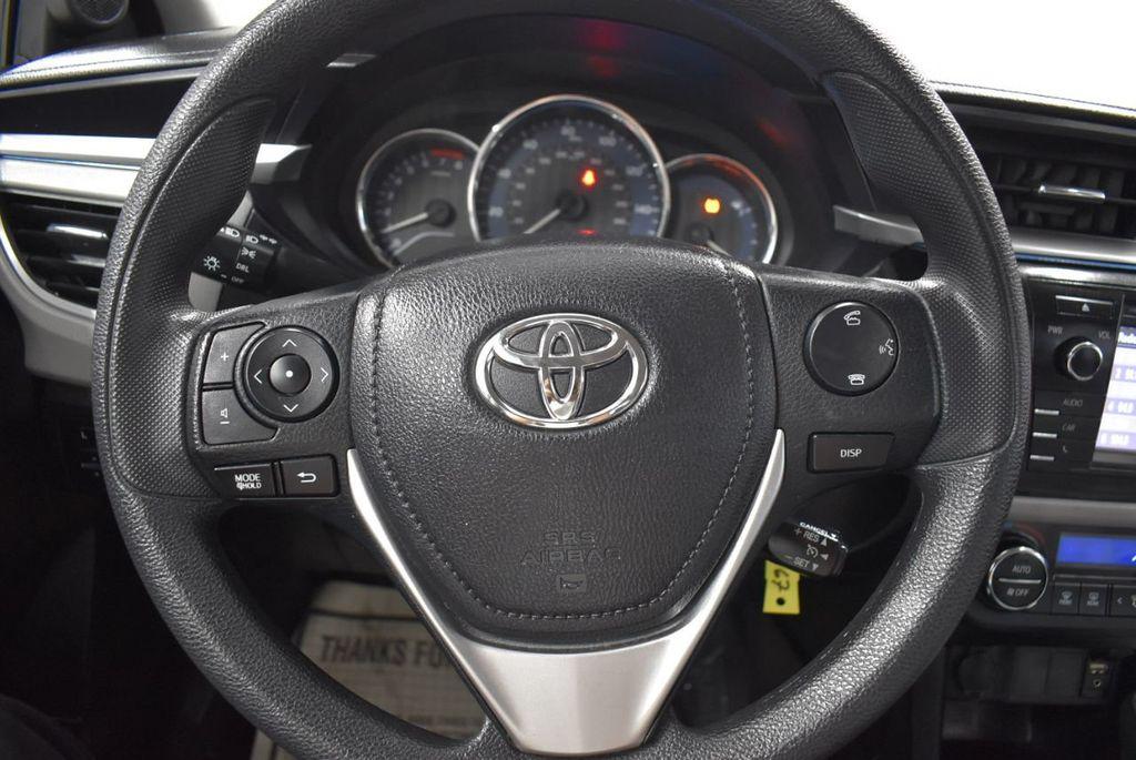 2016 Toyota Corolla LE - 18497669 - 16
