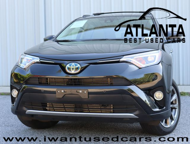 Toyota Rav4 Hybrid Used >> 2016 Used Toyota Rav4 Hybrid Awd 4dr Limited At Atlanta Best Used Cars Serving Peachtree Corners Ga Iid 18904808