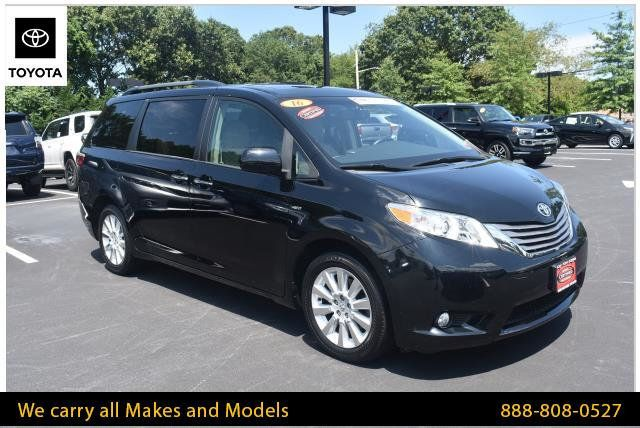 2016 Used Toyota Sienna 5dr 7-Passenger Van XLE AWD at WeBe Autos Serving  Long Island, NY, IID 19145028