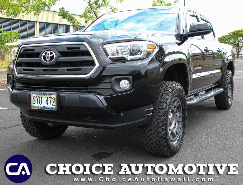 2016 Used Toyota Tacoma 3 Lift With Rim Tire Package At Choice Automotive Serving Honolulu Hi Iid 20079900