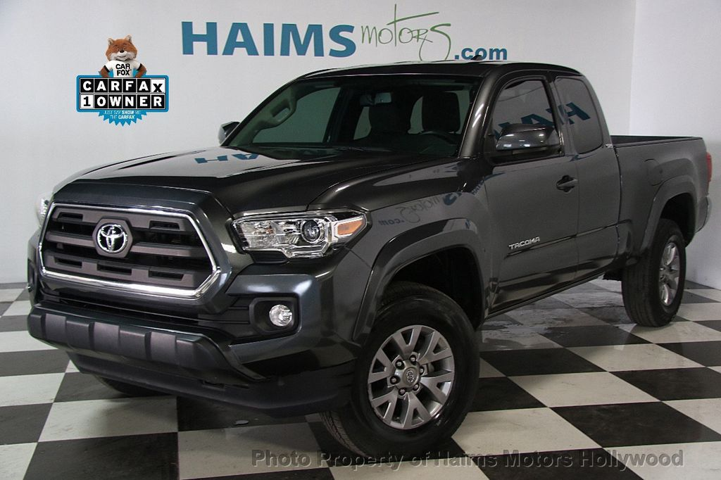 2016 used toyota tacoma sr5 access cab 2wd v6 automatic at haims motors ft lauderdale serving. Black Bedroom Furniture Sets. Home Design Ideas