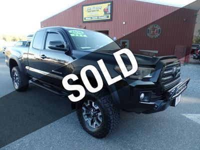2016 Toyota Tacoma TRD Off-Road Access Cab 4WD V6 Automatic Truck