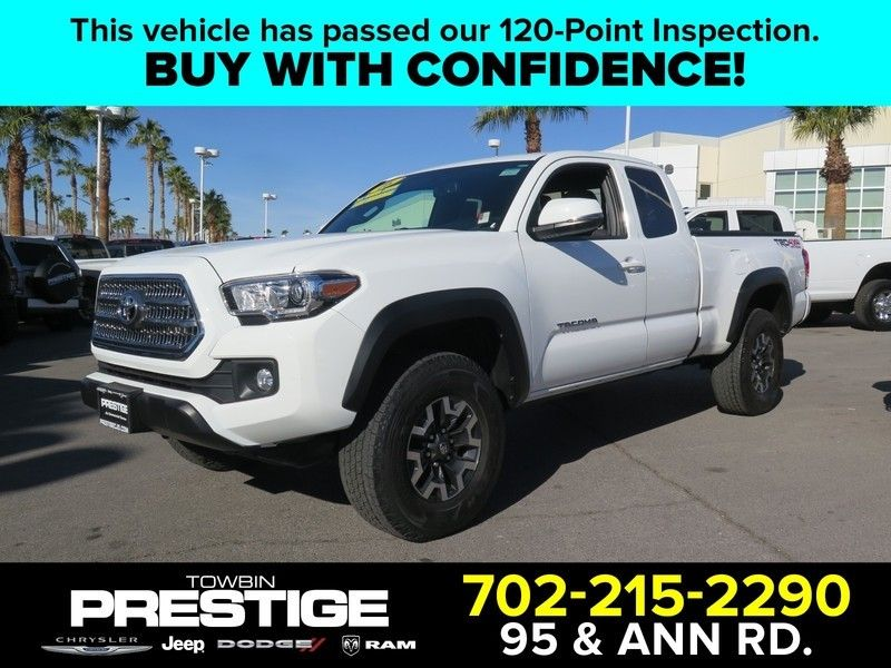 2016 Toyota Tacoma TRD Off-Road Access Cab 4WD V6 Automatic  - 17183373 - 0