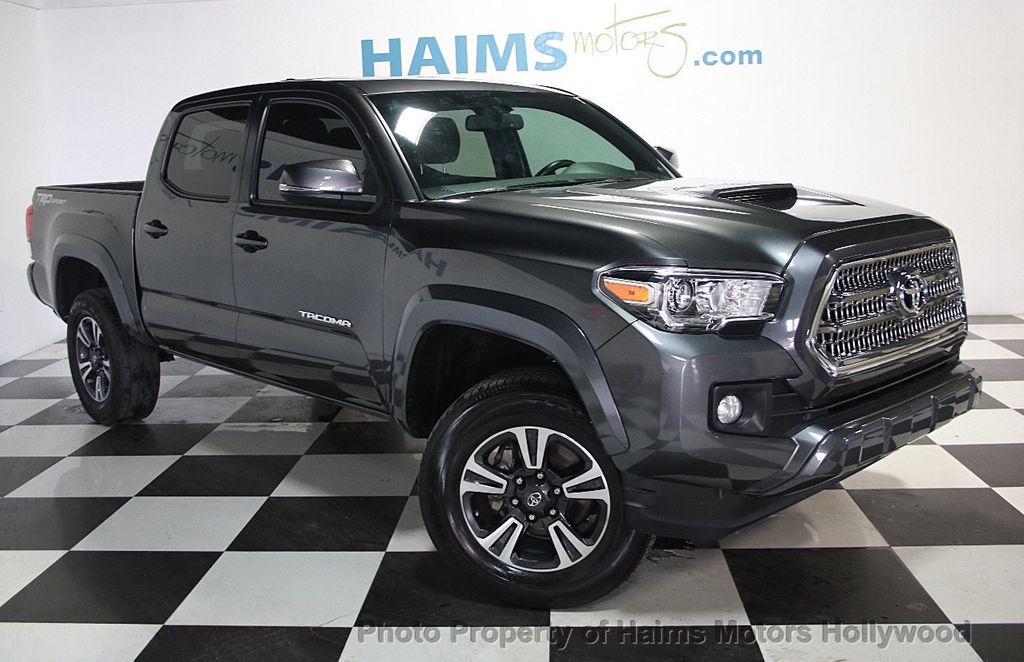 2016 Used Toyota Ta a TRD f Road Double Cab 2WD V6 Automatic at