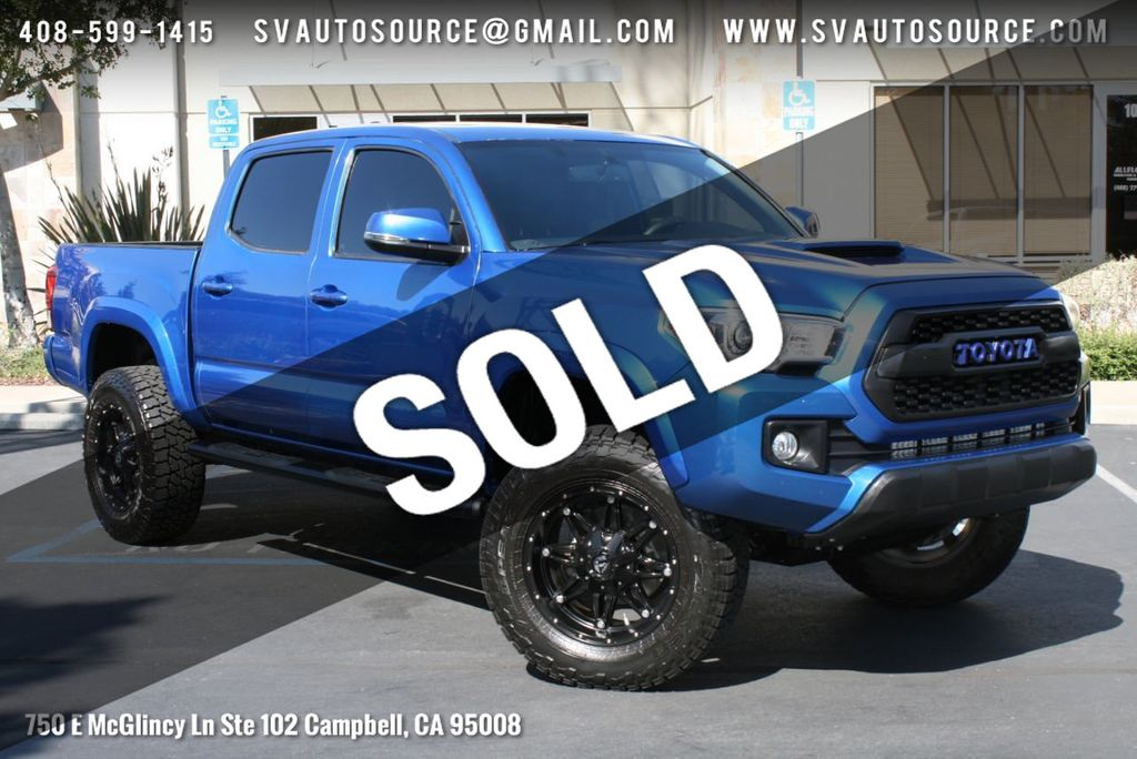 2016 Used Toyota Tacoma Trd Sport Double Cab 2wd V6 Automatic At Silicon Valley Auto Source Serving Campbell Ca Iid 20190953