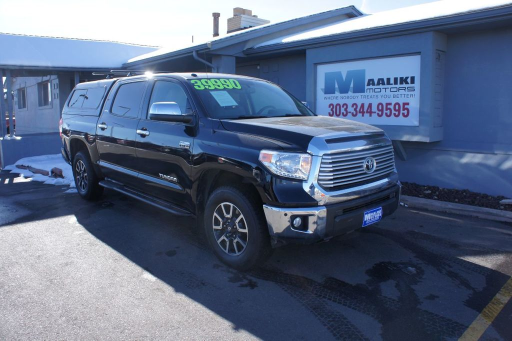 2016 Toyota Tundra Limited CrewMax 5.7L V8 FFV 4WD 6-Speed Automatic - 18504844 - 0