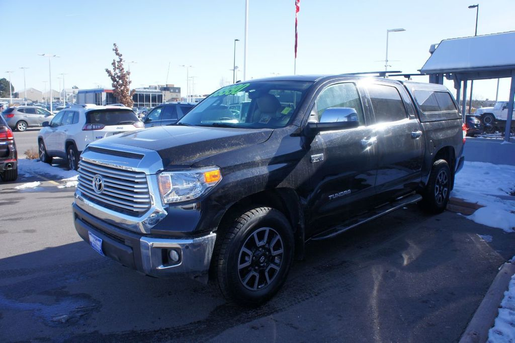 2016 Toyota Tundra Limited CrewMax 5.7L V8 FFV 4WD 6-Speed Automatic - 18504844 - 23