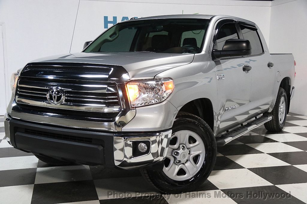 2016 Used Toyota Tundra Limited CrewMax 5 7L V8 FFV 4WD 6 Speed