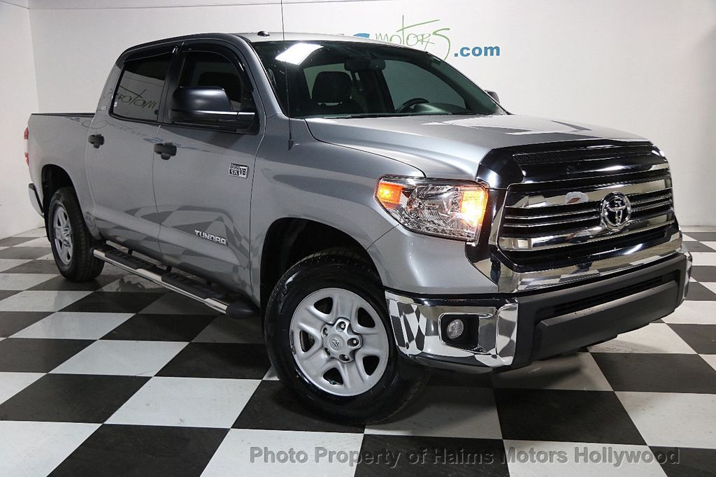 Tundra Limited 2016 >> 2016 Used Toyota Tundra Limited Crewmax 5 7l V8 Ffv 4wd 6 Speed