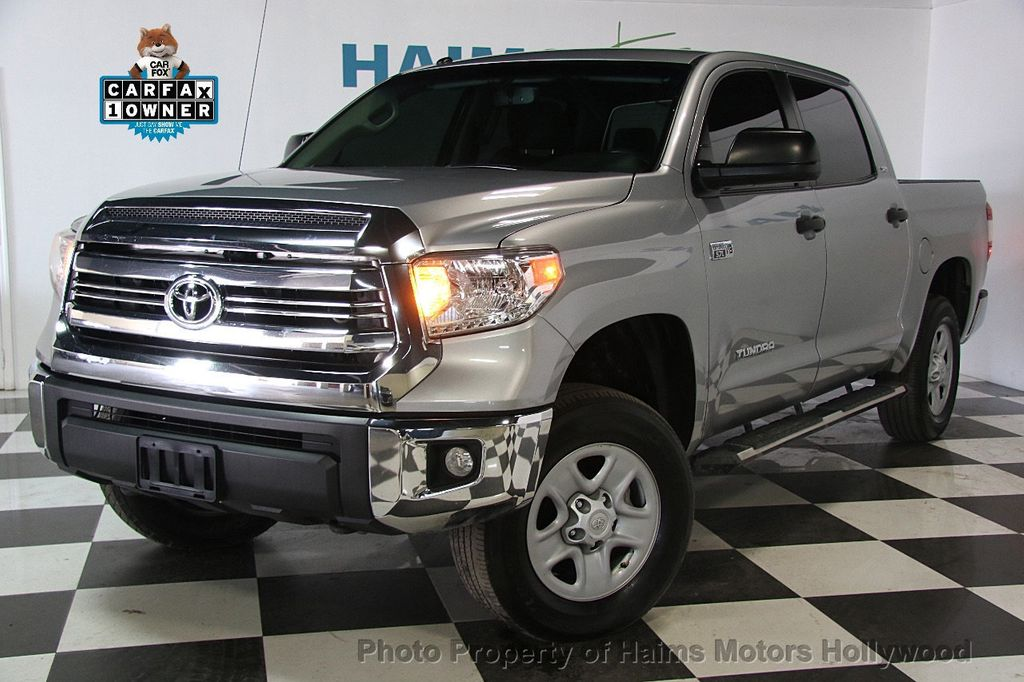 2016 Used Toyota Tundra Sr5 Crewmax 5 7l V8 Ffv 4wd 6 Speed Automatic At Haims Motors Serving