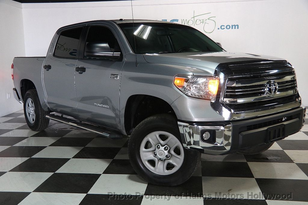 2016 used toyota tundra sr5 crewmax 5 7l v8 ffv 4wd 6 speed automatic at haims motors serving. Black Bedroom Furniture Sets. Home Design Ideas