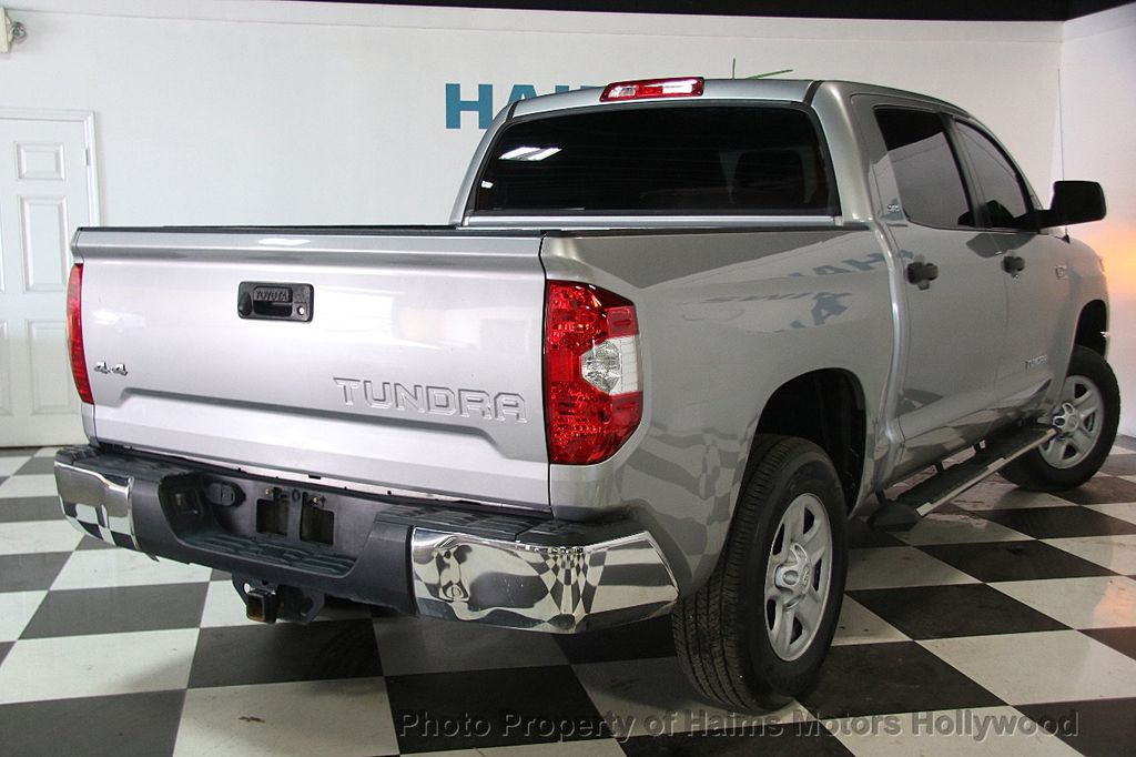 2016 used toyota tundra sr5 crewmax 5 7l v8 ffv 4wd 6 speed automatic at haims motors ft. Black Bedroom Furniture Sets. Home Design Ideas