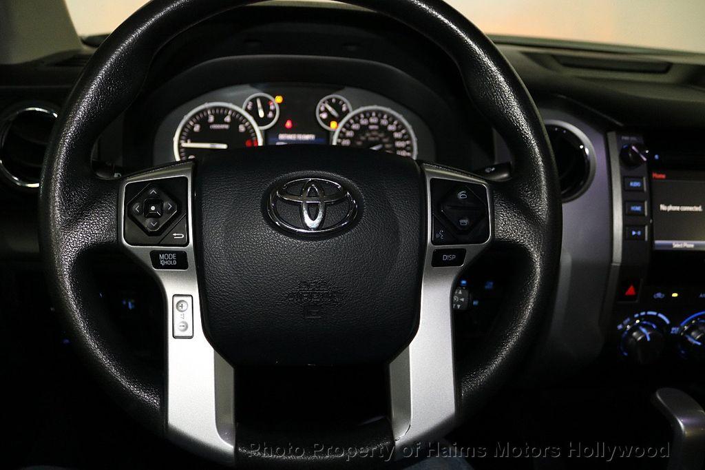 2016 Toyota Tundra SR5 CrewMax 5.7L V8 FFV 4WD 6-Speed Automatic - 18528509 - 29