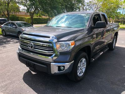 2016 Toyota Tundra SR5 Double Cab 5.7L V8 4WD 6-Speed Automatic Truck