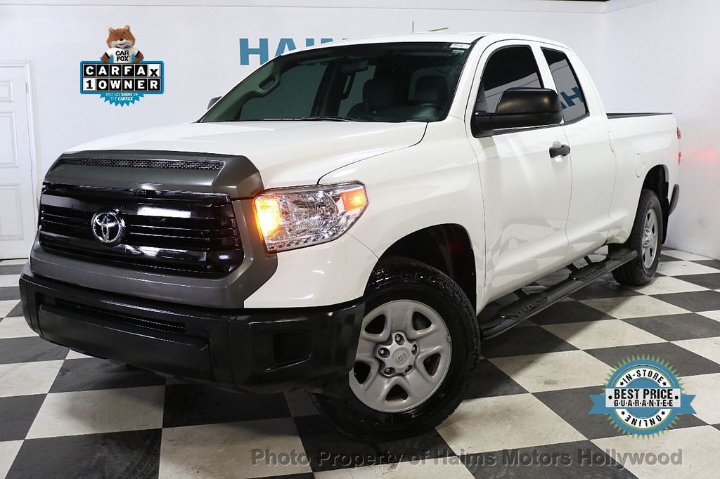 2016 Toyota Tundra SR Double Cab 4.6L V8 6-Speed Automatic - 18287246 - 0