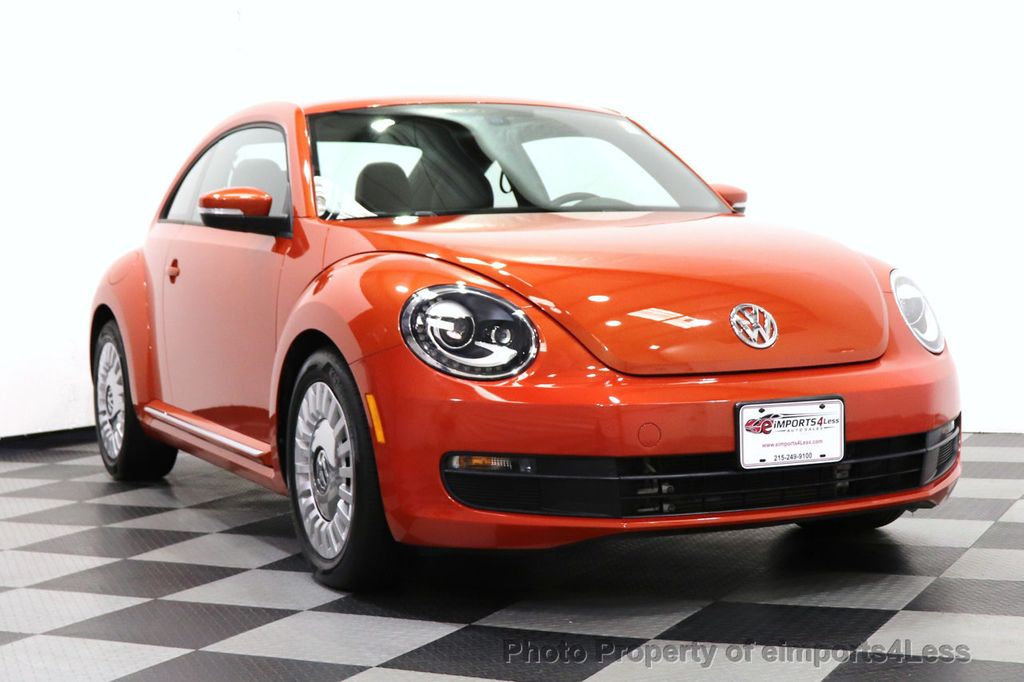 2016 Volkswagen Beetle Coupe CERTIFIED BEETLE TURBO 1.8T SE CAM HEATED SEATS - 18587079 - 14