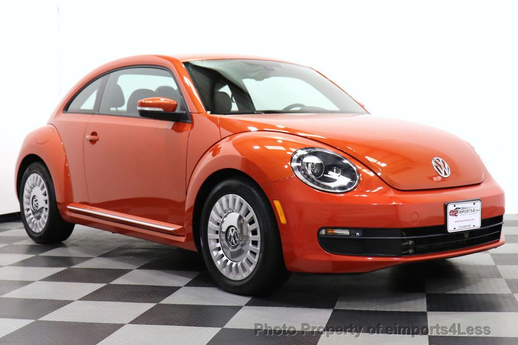 2016 Volkswagen Beetle Coupe CERTIFIED BEETLE TURBO 1.8T SE CAM HEATED SEATS - 18587079 - 1