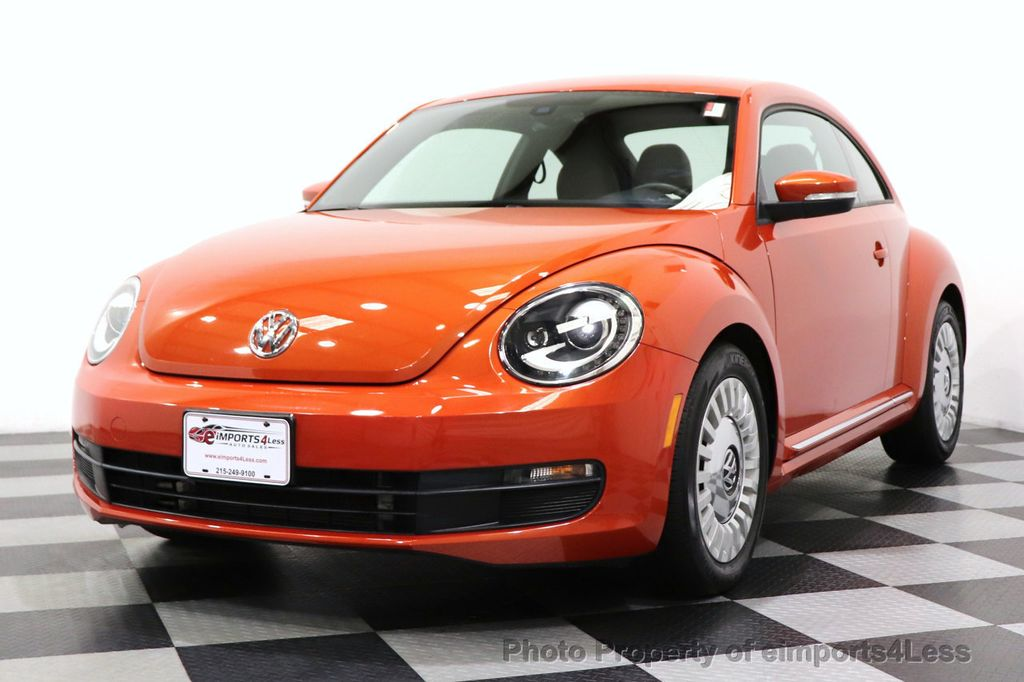 2016 Volkswagen Beetle Coupe CERTIFIED BEETLE TURBO 1.8T SE CAM HEATED SEATS - 18587079 - 27