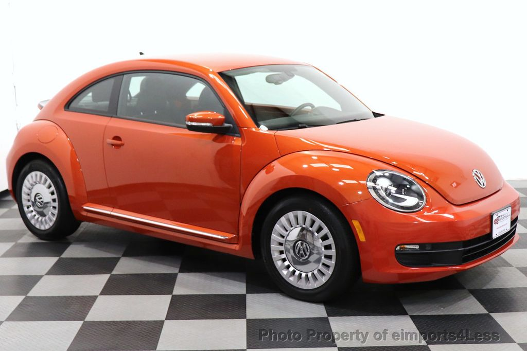 2016 Volkswagen Beetle Coupe CERTIFIED BEETLE TURBO 1.8T SE CAM HEATED SEATS - 18587079 - 28