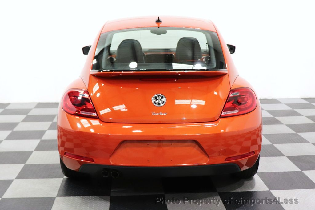2016 Volkswagen Beetle Coupe CERTIFIED BEETLE TURBO 1.8T SE CAM HEATED SEATS - 18587079 - 30