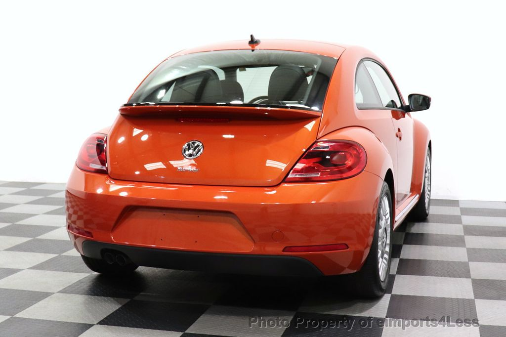 2016 Volkswagen Beetle Coupe CERTIFIED BEETLE TURBO 1.8T SE CAM HEATED SEATS - 18587079 - 31