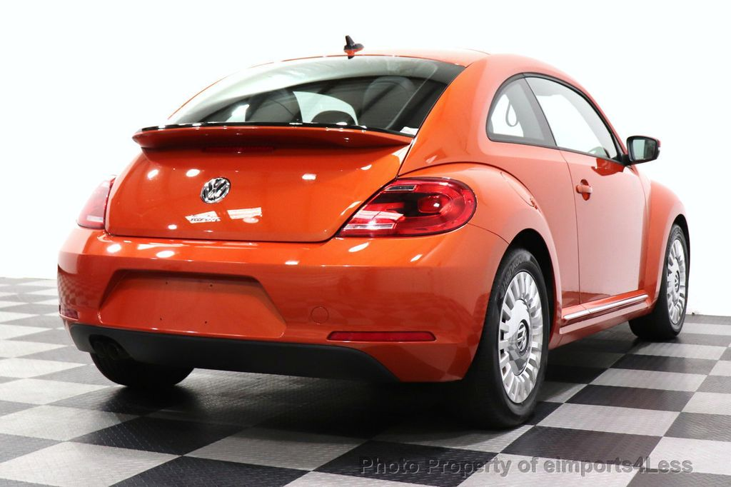 2016 Volkswagen Beetle Coupe CERTIFIED BEETLE TURBO 1.8T SE CAM HEATED SEATS - 18587079 - 3