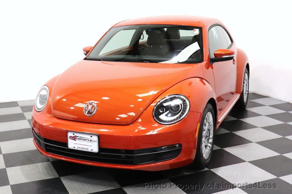 2016 Volkswagen Beetle Coupe CERTIFIED BEETLE TURBO 1.8T SE CAM HEATED SEATS - 18587079 - 43