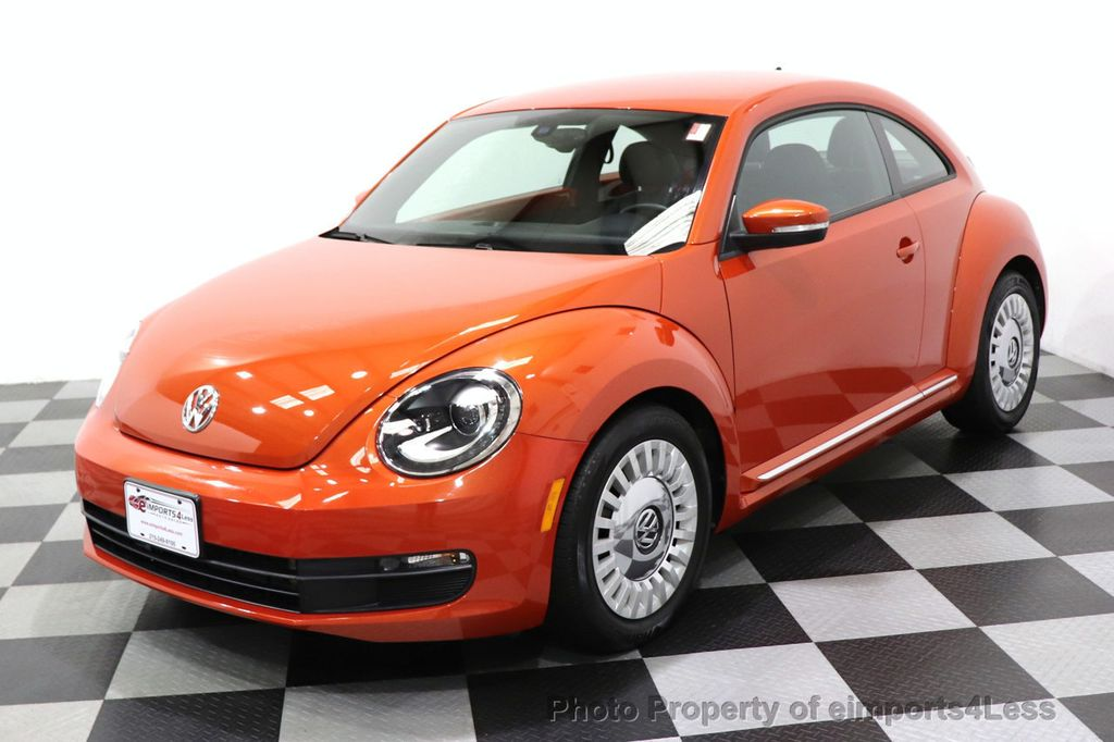 2016 Volkswagen Beetle Coupe CERTIFIED BEETLE TURBO 1.8T SE CAM HEATED SEATS - 18587079 - 44