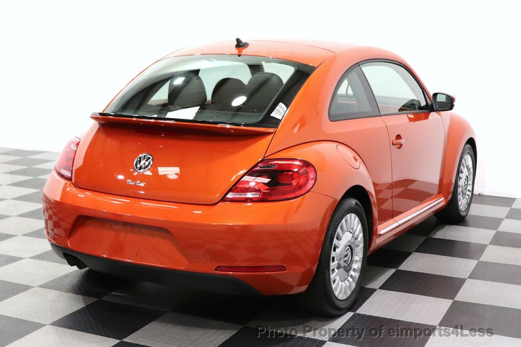 2016 Volkswagen Beetle Coupe CERTIFIED BEETLE TURBO 1.8T SE CAM HEATED SEATS - 18587079 - 47