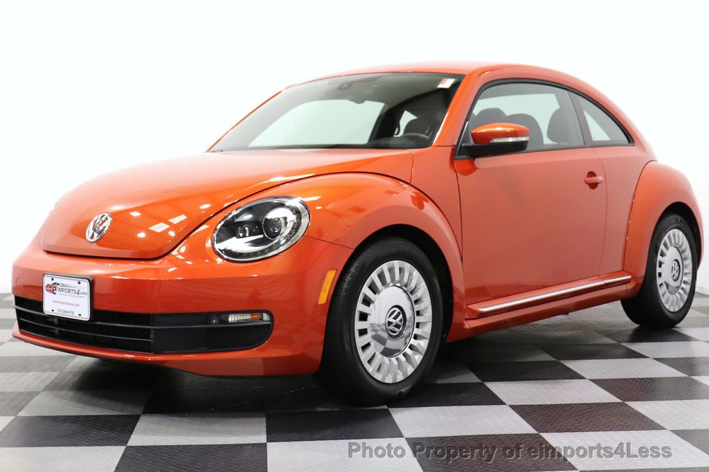 2016 Volkswagen Beetle Coupe CERTIFIED BEETLE TURBO 1.8T SE CAM HEATED SEATS - 18587079 - 52