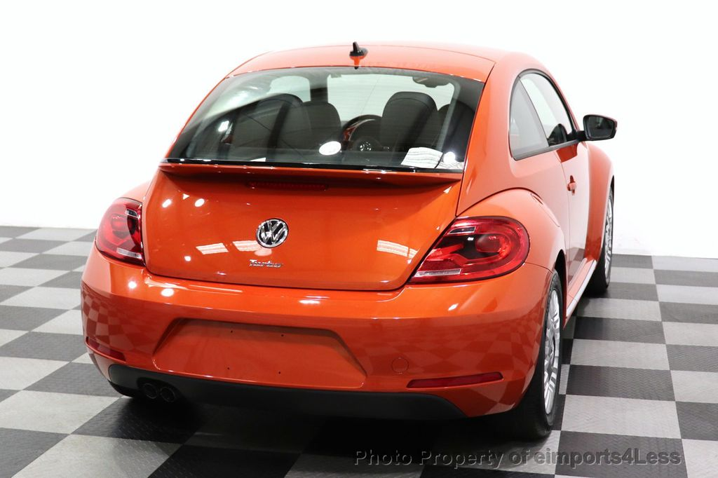 2016 Volkswagen Beetle Coupe CERTIFIED BEETLE TURBO 1.8T SE CAM HEATED SEATS - 18587079 - 54