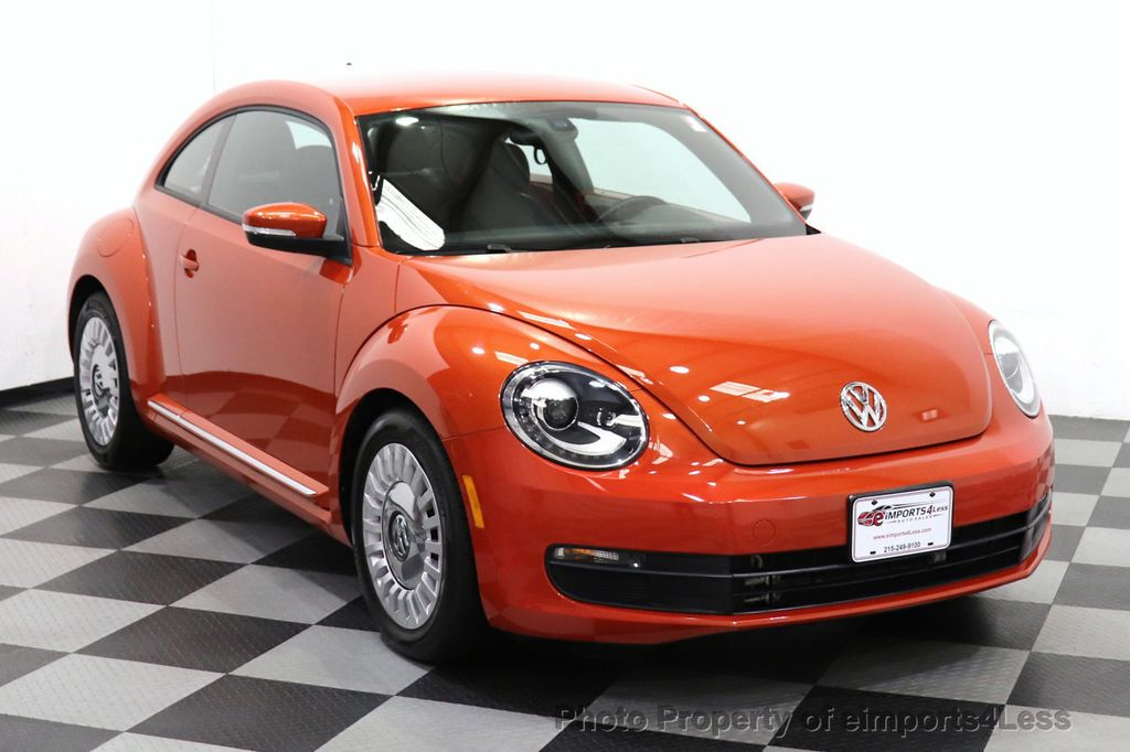 2016 Volkswagen Beetle Coupe CERTIFIED BEETLE TURBO 1.8T SE CAM HEATED SEATS - 18587079 - 55