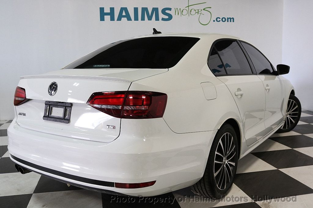 2016 Used Volkswagen Jetta Sedan 1.8T Sport PZEV 4dr Automatic at Haims Motors Serving Fort ...
