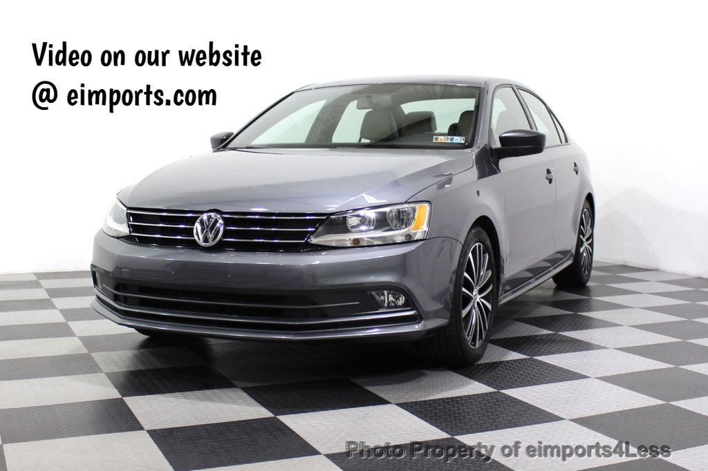 2016 Volkswagen Jetta Sedan CERTIFIED VW Jetta 1.8T Sport CAMERA SIRIUS NAVIGATION - 18259993 - 0